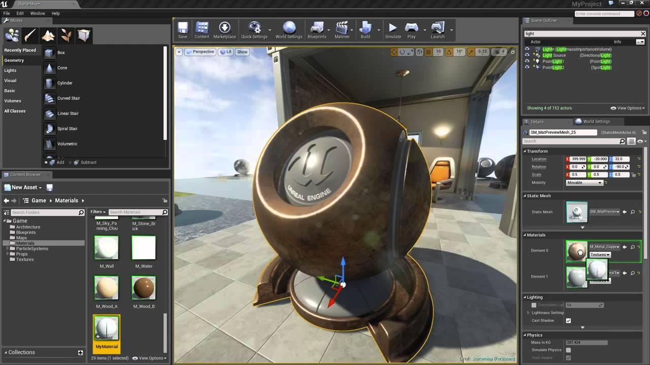 Training archviz unreal engine and VR