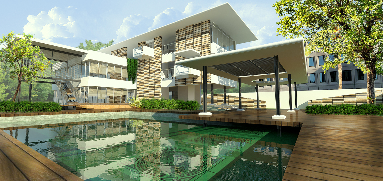 Training on Vray in 3D architecture creation