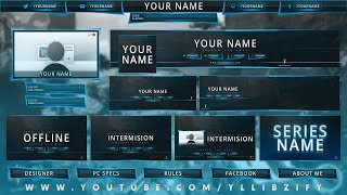 Free Graphics: Ultimate Rebrand Photoshop Template Pack #2 - YouTube