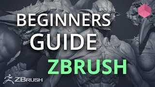 First steps with the sculpture - ZBrush beginner Tutorial