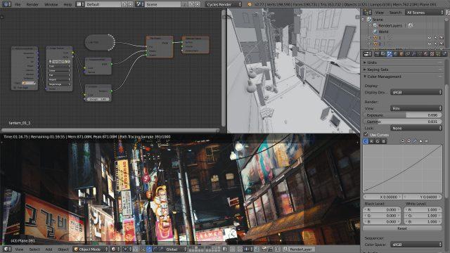 3D Blender workshop in Canada Toronto Quebec Montreal Vancouver