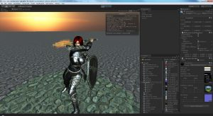 Animation design on Unity 3D