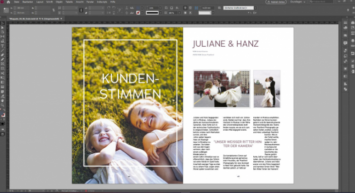 Adobe Indesign Online Courses for Graphic Designers