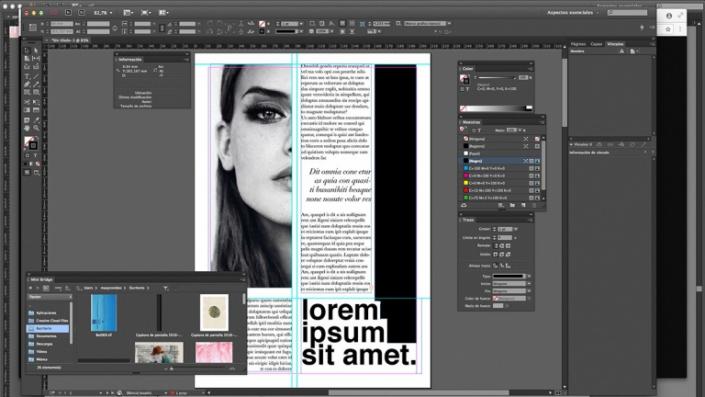 Adobe Indesign courses to create magazines JFL Media Training