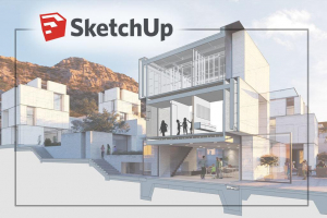 SketchUp 3d render courses for Interior Design and Architecture in Toronto, Montreal, Regina, Victoria and Richmond Hill JFL Media Training