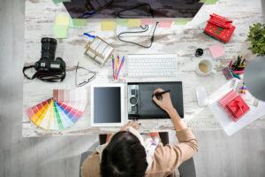 Cours design graphique en entreprise privée adobe